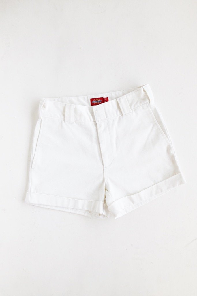 White Work Shortie