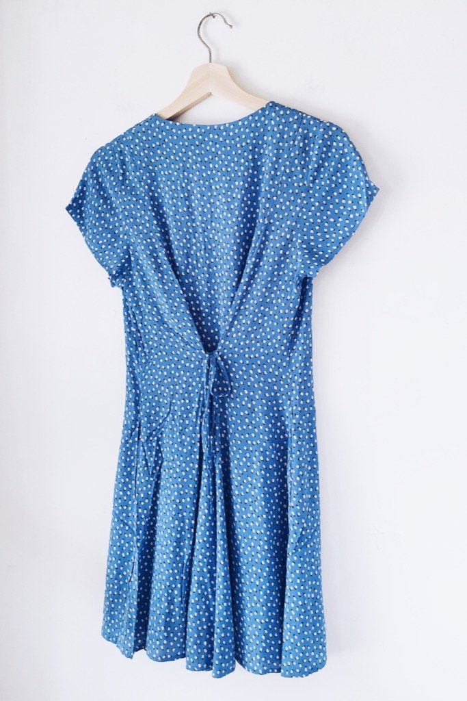 French Blue Milla Tulip Dress