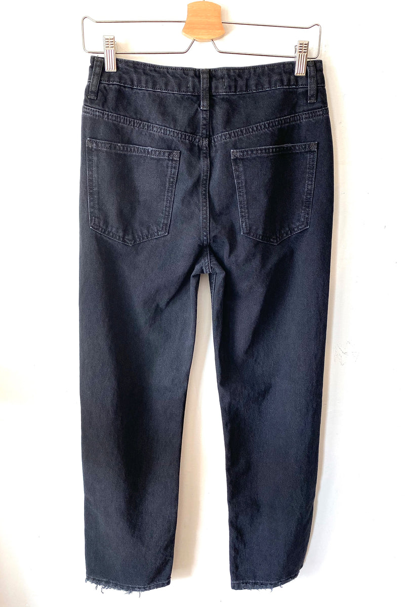 Black Dakota Straight Leg Jean