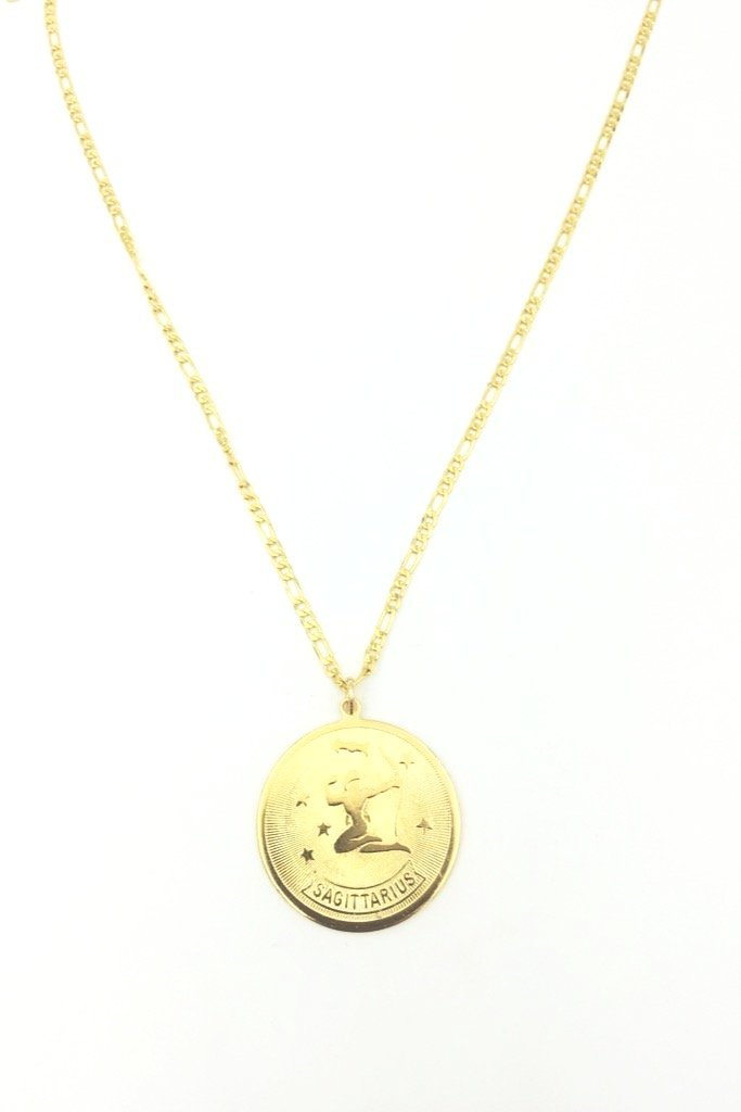 Planets And Predictions Zodiac Necklace