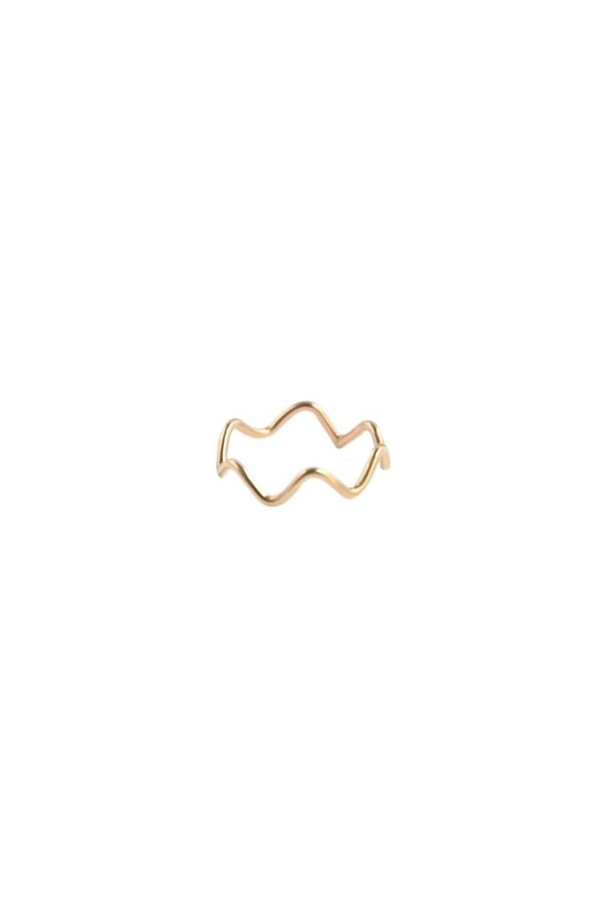 Gold Ziggy Ring