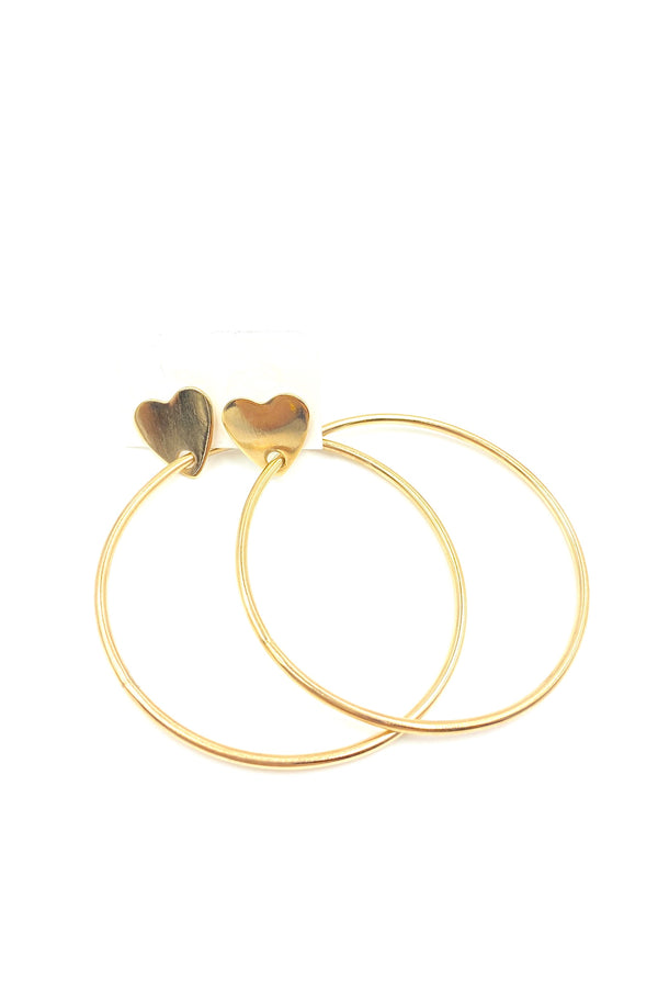 Gold Crazy In Love Hoops