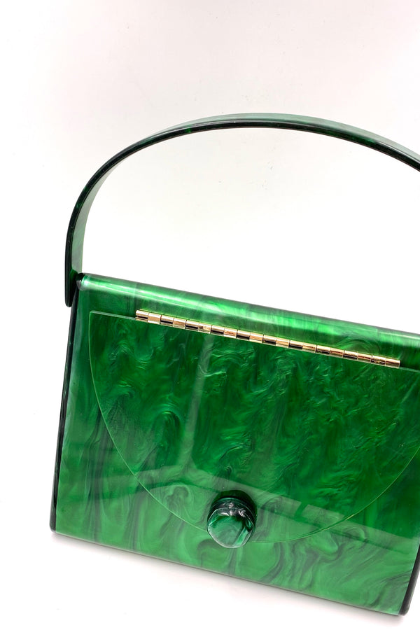Green Acrylic Tortoise Bag