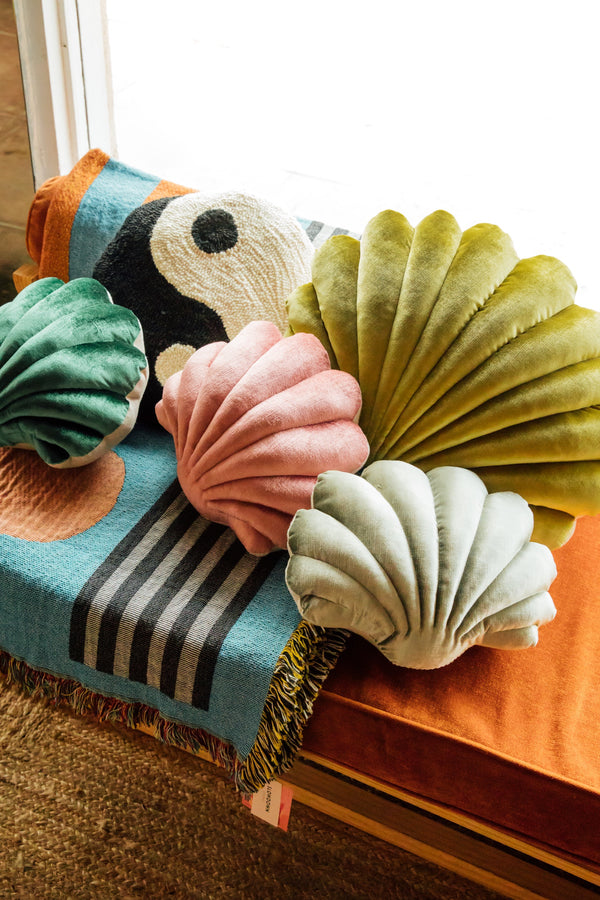 Sage Shell Pillow