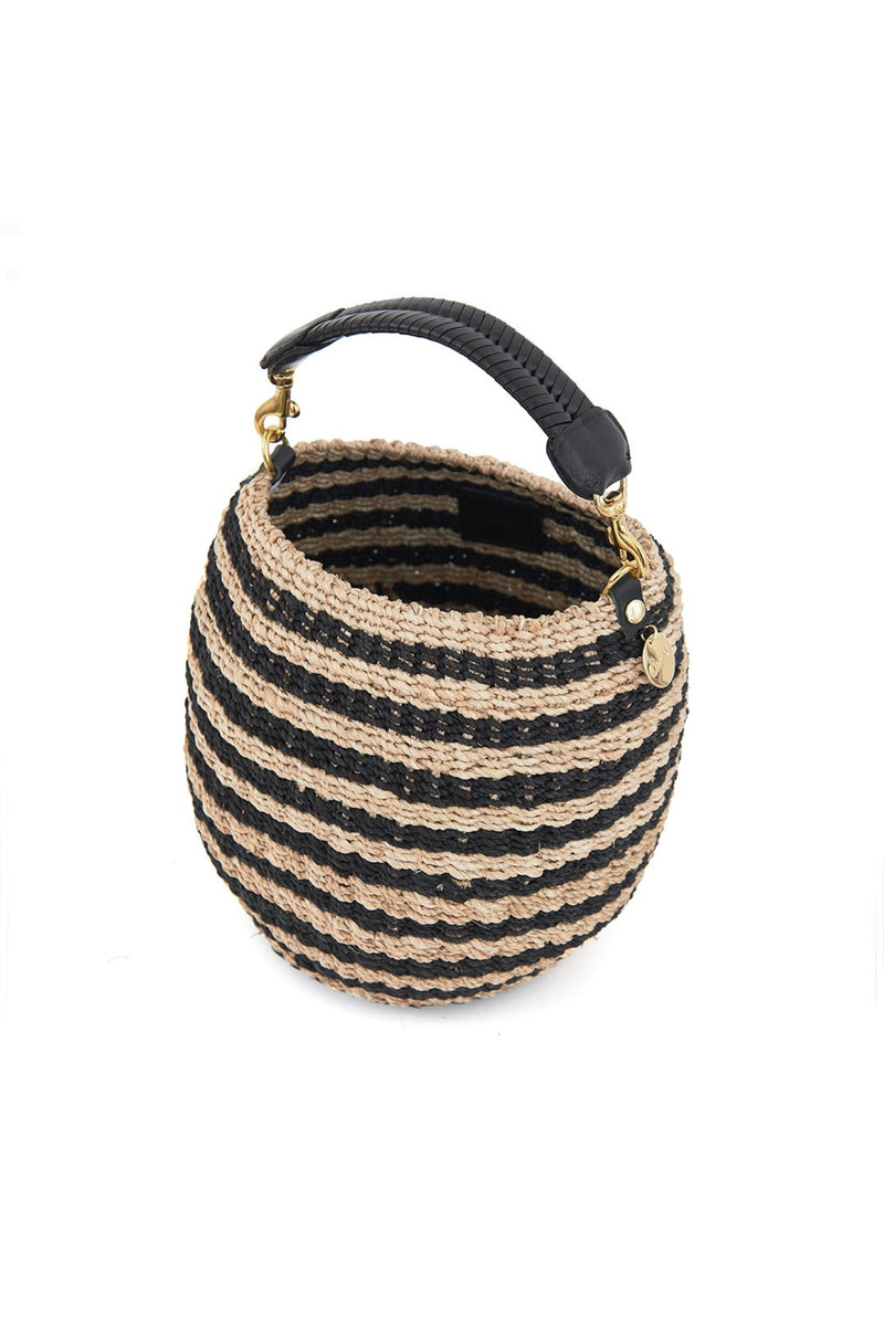 Stripe Pot De Miel Bag