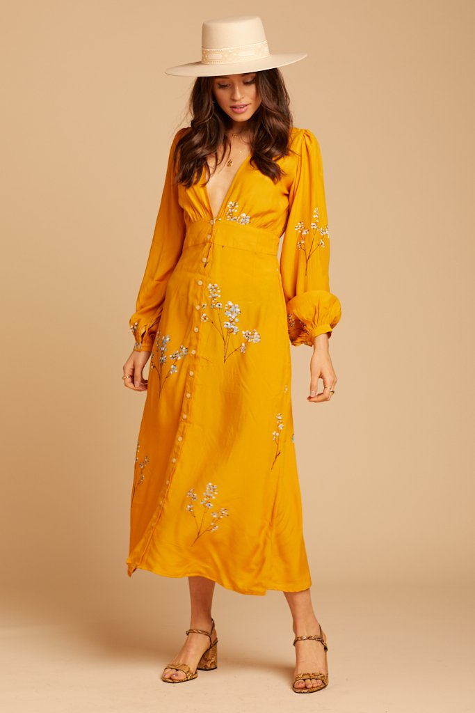 Blossom Elliot Midi Dress