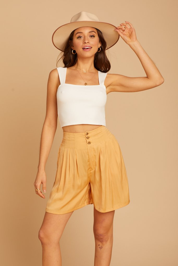 Gold Brittany LB Shorts