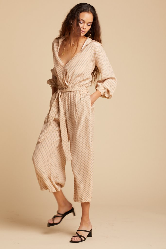 Gold Chelsea Jumpsuit