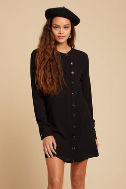 Black L'Avenue Mini Dress