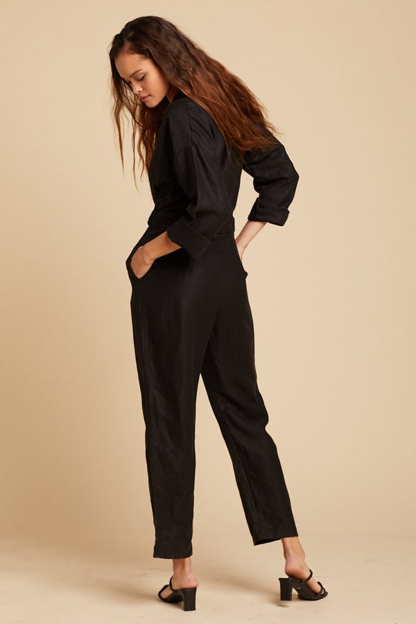Black Parker Jumpsuit