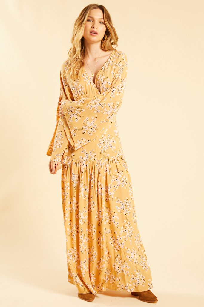 Golden Favorite Dress