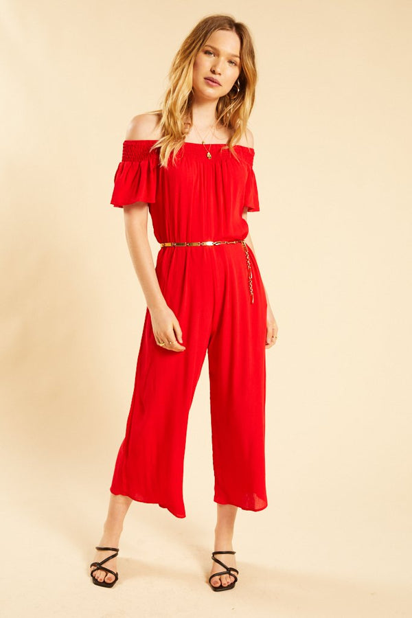 Red Byblos Jumpsuit