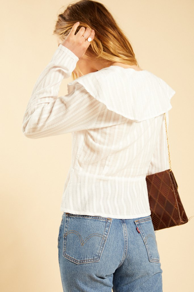 White Fawn Blouse