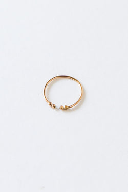 Gold Double Cuff Ring