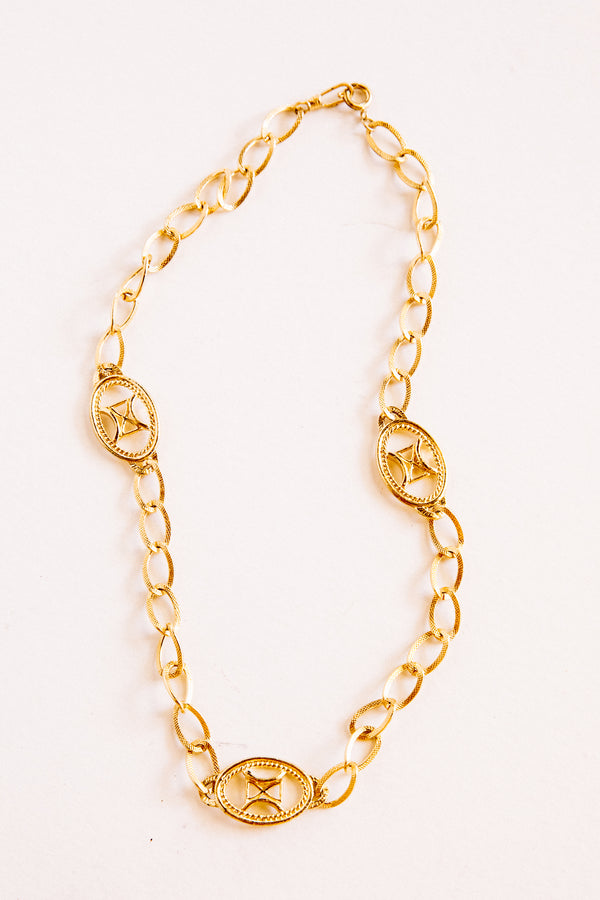Gold Cassidy Necklace