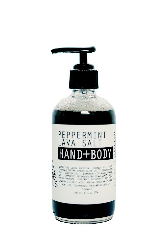 8oz Peppermint Lava Hand & Body Wash