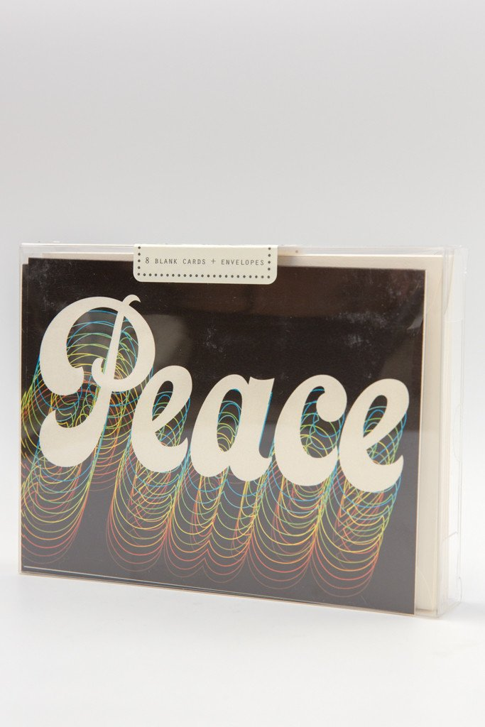 Retro Peace Card Set