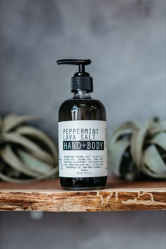 12oz Peppermint Lava Hand & Body Wash