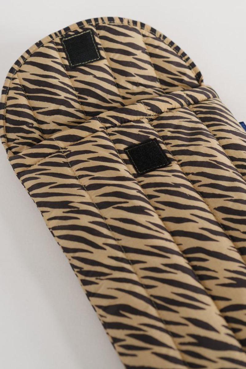 Tiger Stripe Puffy Laptop Sleeve