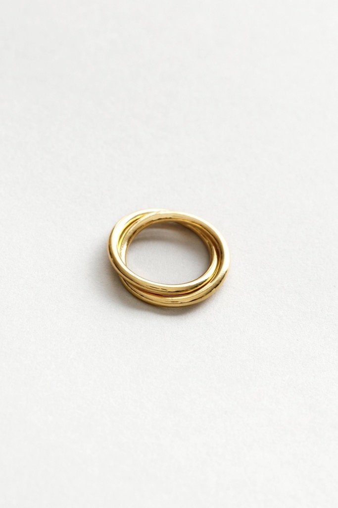 Gold Celine Ring