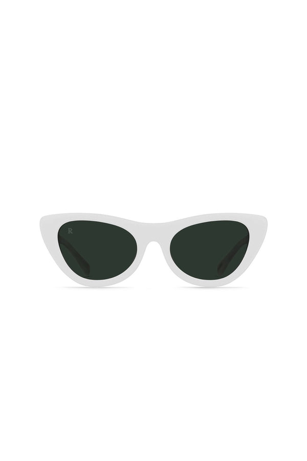 White Flora Sunglasses
