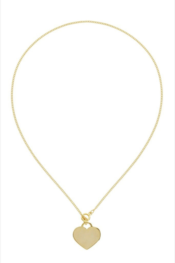 Gold Racquel Necklace
