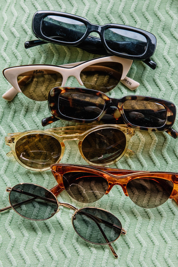 Tan Loren Sunglasses