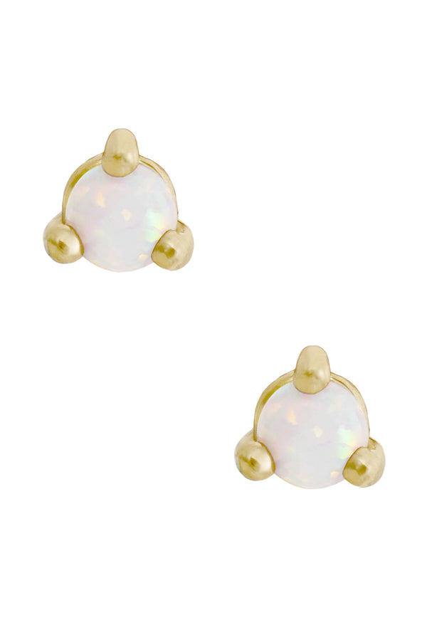 Gold Opal Reese Studs