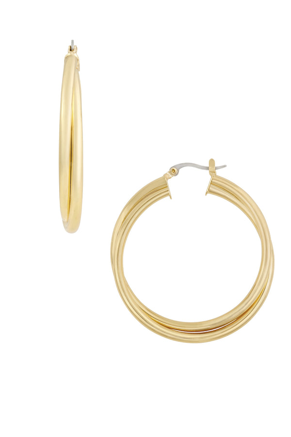 Gold Remi Hoops