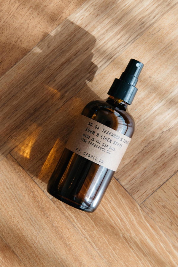 Teakwood & Tobacco Room & Linen Spray
