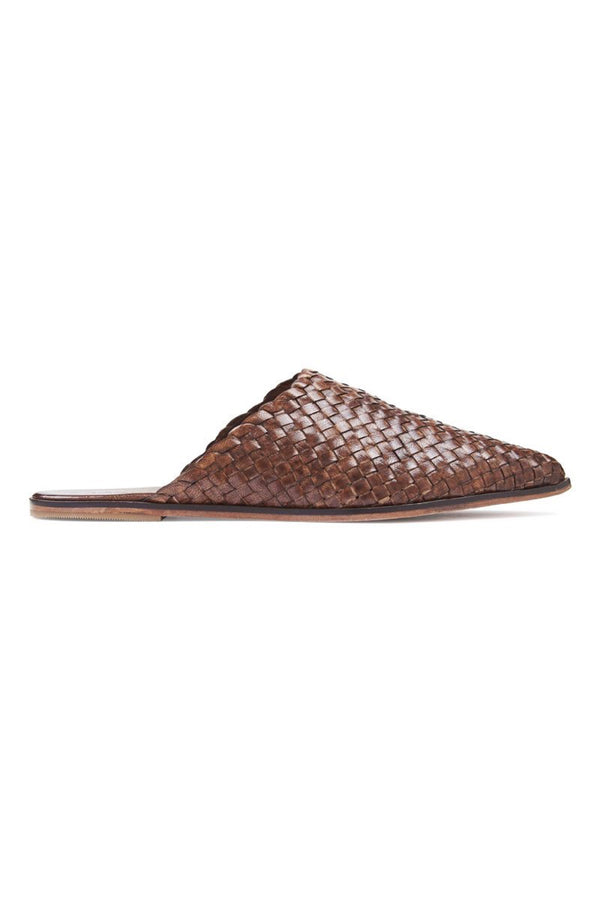 Antique Tan Caio Flat