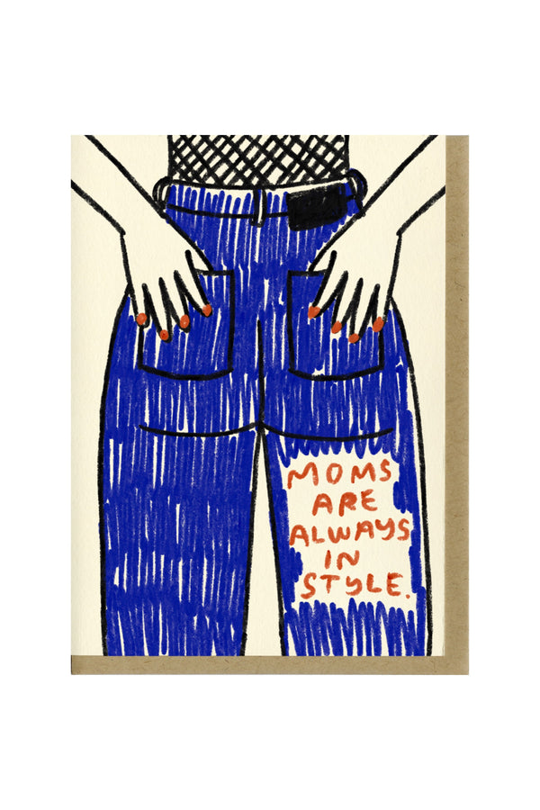 Mom Jeans Card