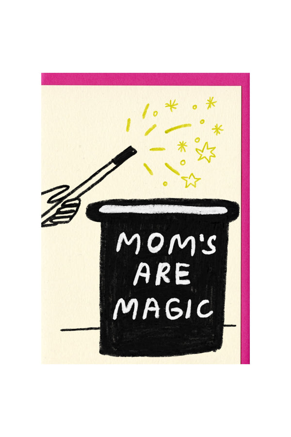 Moms are Magic Card