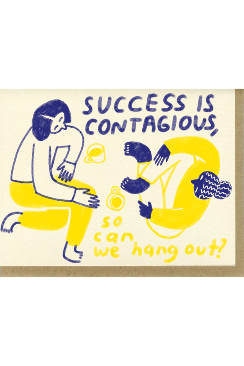 Success Is Contagious Card
