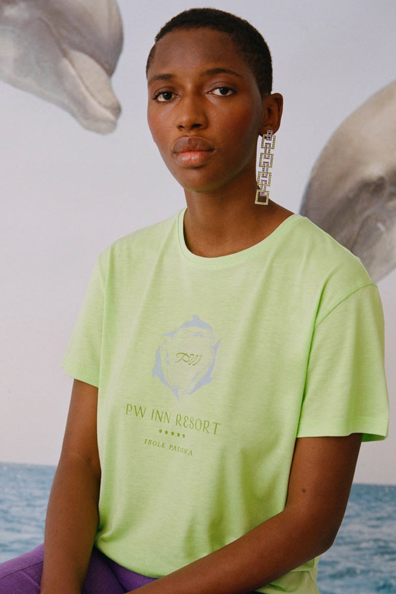 Green Flour Souvenir Resort Tee