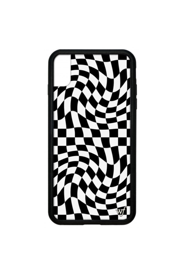 Crazy Checkers iPhone Case