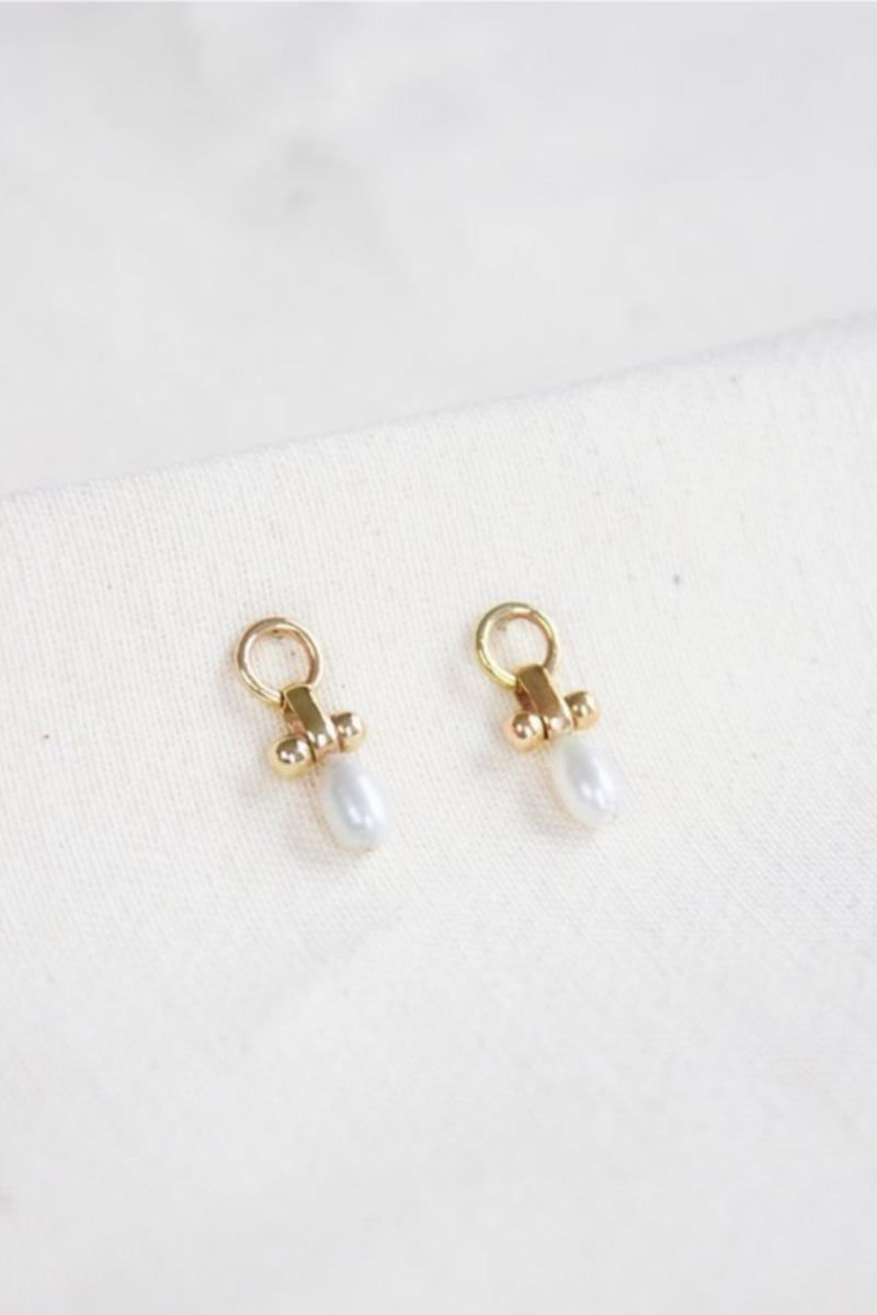 Gold Little Luck Studs