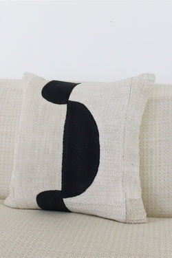 Black Forma Pillow