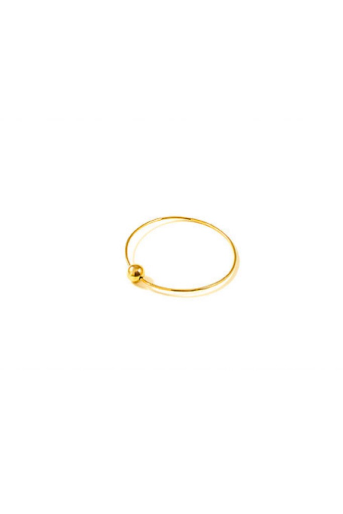 Gold Mobile Bangle