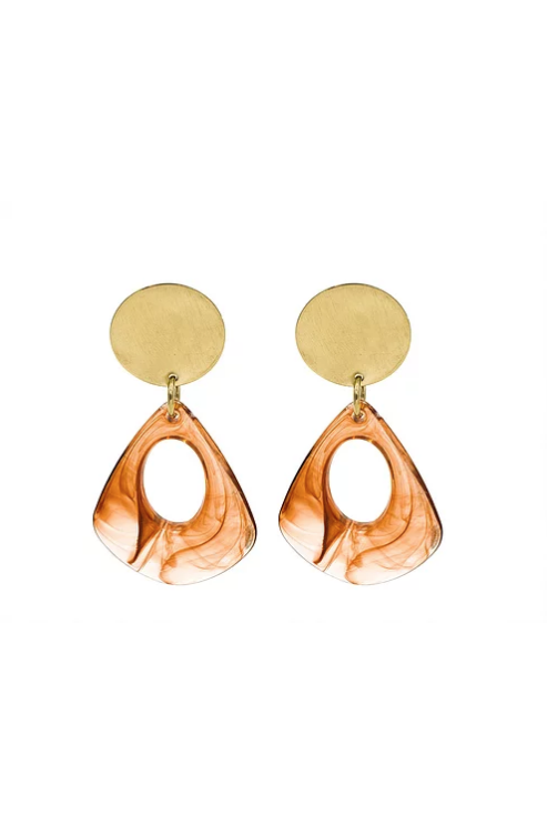 Amber Mod Earrings