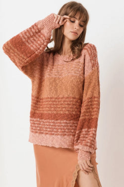 Over The Rainbow Sunrise Sweater