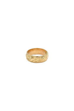 Gold Goddess Ring