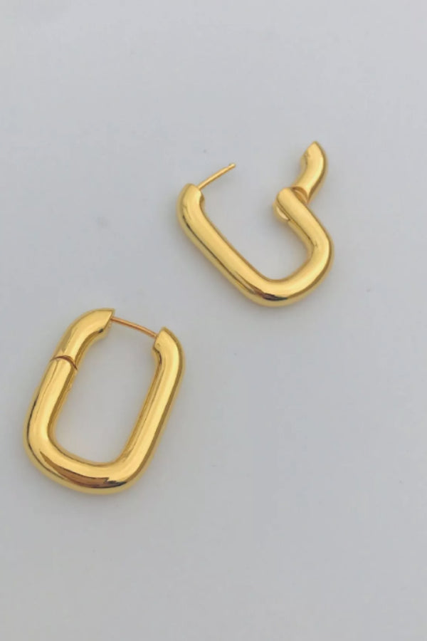 Gold Tonia Hoops