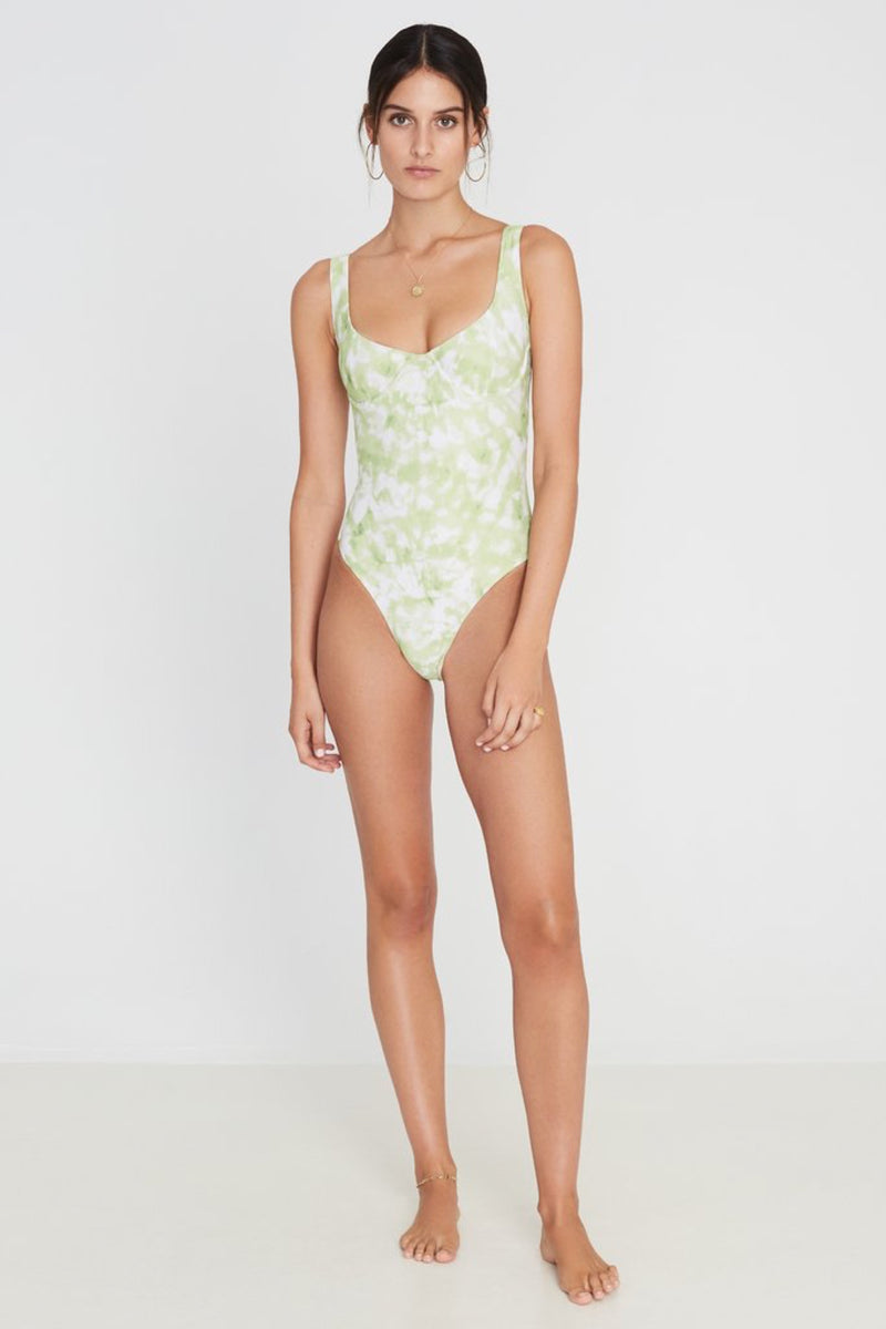 Lime Roos Tie Dye Mona One Piece