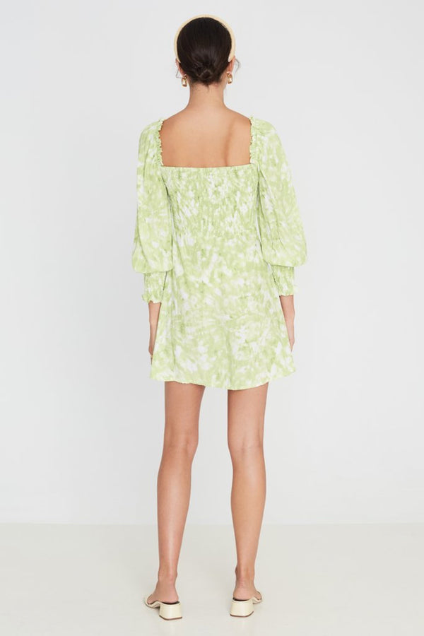 Lime Roos Tie Dye Arianne Dress
