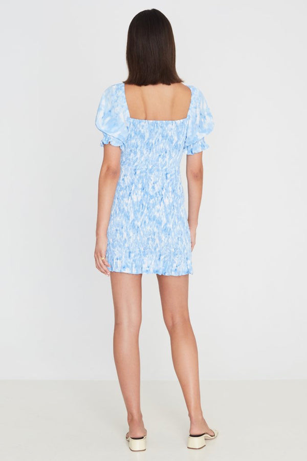 Blue Roos Tie Dye Magnolia Dress