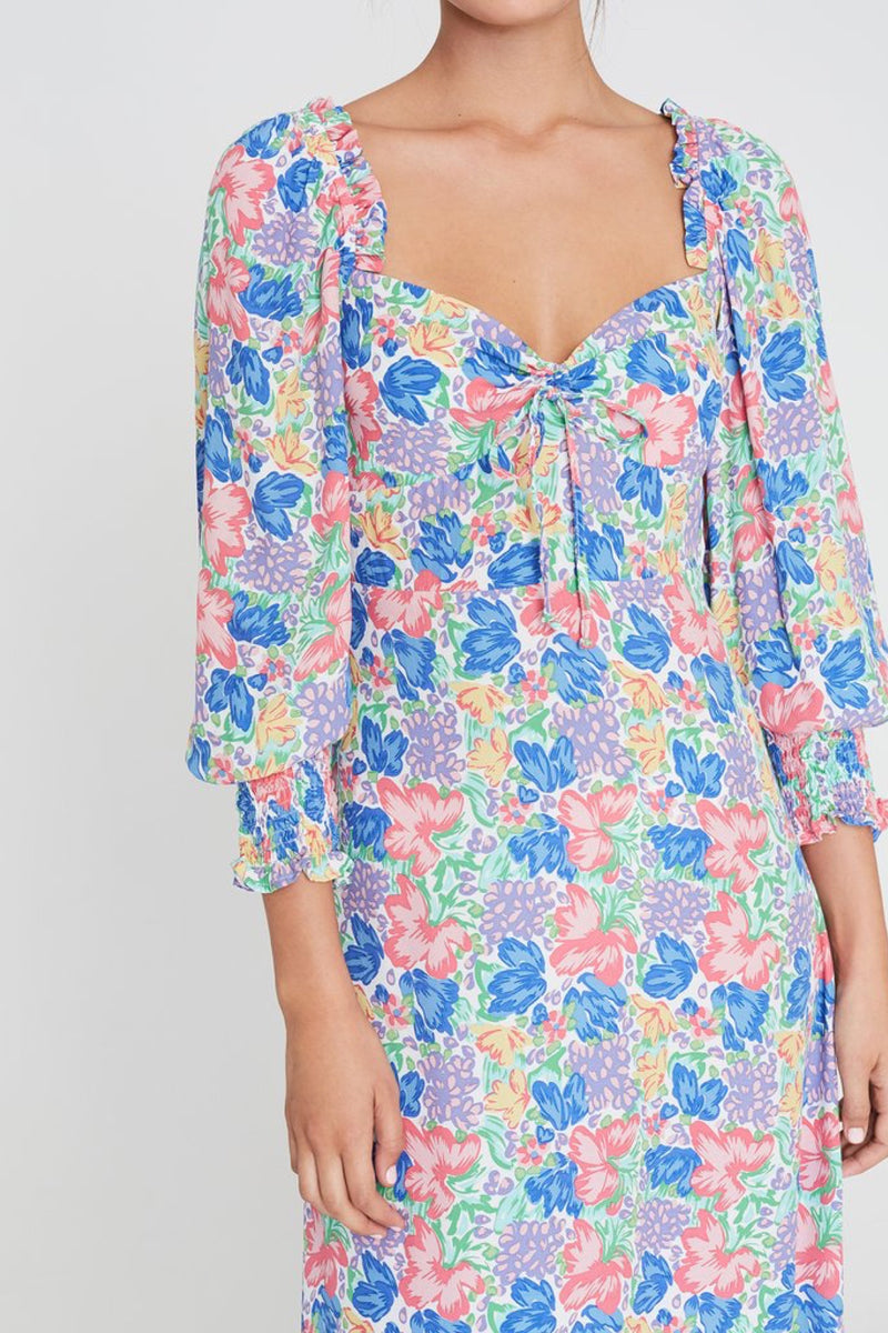 Floral Mathilde Dress