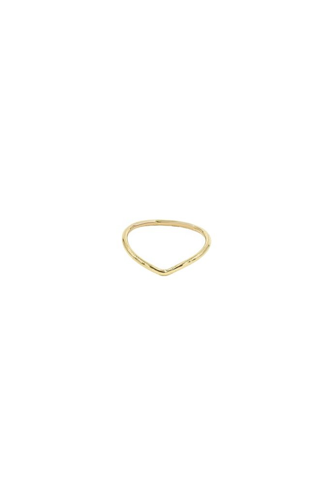 Gold Cupid Ring