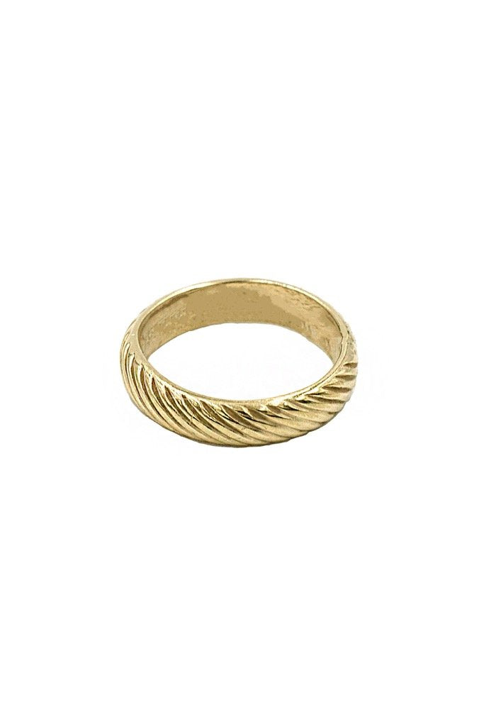Gold Stripe Ring