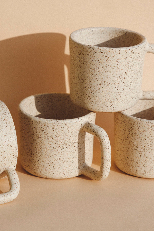 Cream Speckled Canyon Mug